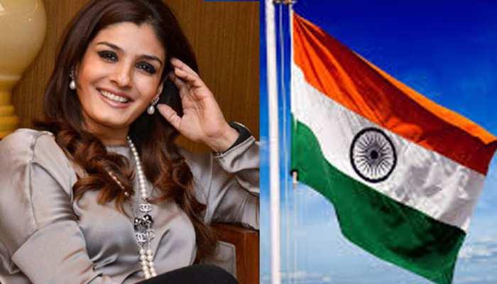 हर दिन मनाएं जश्न-ए-आजादी : रवीना टंडन