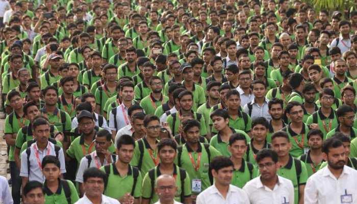 pics: kota 30 thousand sang national anthem together, made new world record