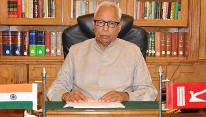 पाकिस्तान के नए नेतृत्व से आतंकी एजेंडा खत्म करने की उम्मीद : राज्यपाल एनएन वोहरा