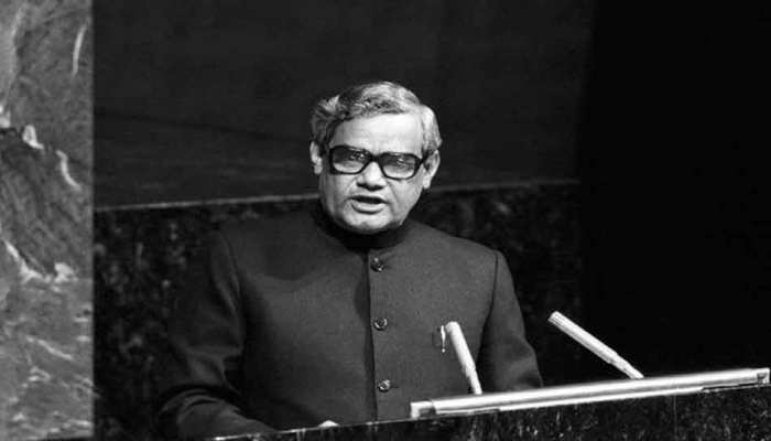 'अटल' एक ऐसे नेता जिसने विश्व पटल पर दी हिन्दी को पहचान