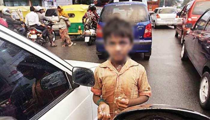 पुलिस पर भारी कोटा में बच्चों से भीख मंगवाने वाले गिरोह, कार्यवाही के बाद भी नहीं हुआ असर