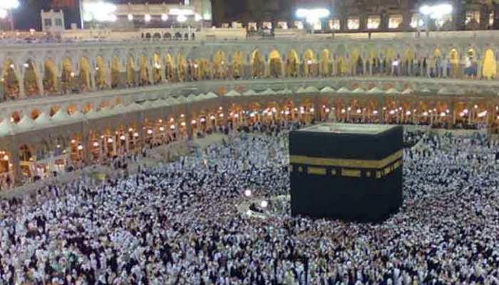 1.28 लाख से अधिक भारतीय हज के लिए सऊदी अरब पहुंचे