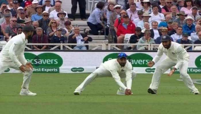 VIDEO: केएल राहुल ने लपका जो रूट का शानदार कैच, कुछ ऐसे पलट गया मैच का रुख