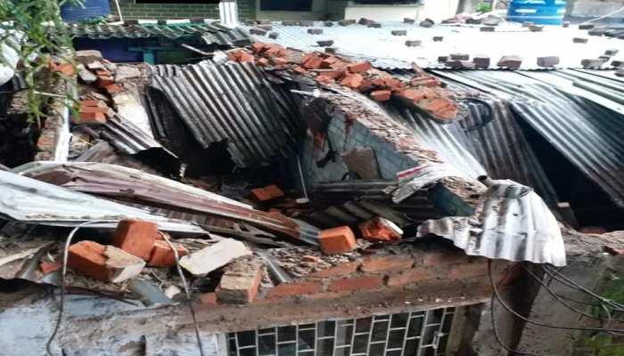 भोपालः तेज बारिश से गिरी मकान की दीवार, एक महिला और 2 बच्चों की मौत