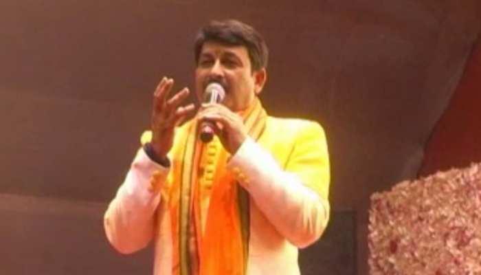 जमशेदपुर : सावन की अंतिम सोमवारी पर मनोज तिवारी ने बांधा समा