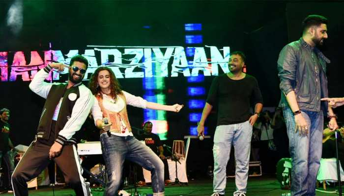 Manmarziyaan Concert: Vicky Kaushal and Taapsee Pannu bring energy with their dance moves