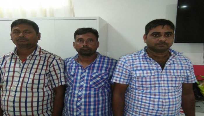 यूपी STF ने मादक पदार्थ की तस्करी करने वाले तीन चोरों को किया गिरफ्तार