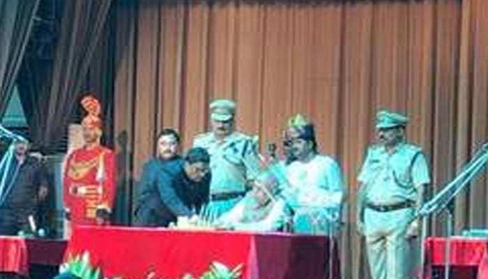 लालजी टंडन बिहार के 39वें राज्यपाल बने, राजभवन में हुआ शपथ ग्रहण समारोह