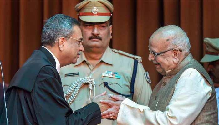 लालजी टंडन ने बिहार के राज्यपाल के रूप में शपथ ली