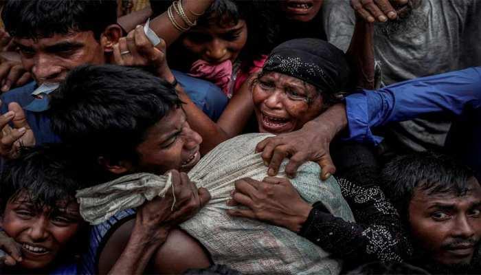 म्यांमार: 129,000 रोहिंग्या मुसलमान 'धरती पर नरक' का सामना करने पर मजबूर