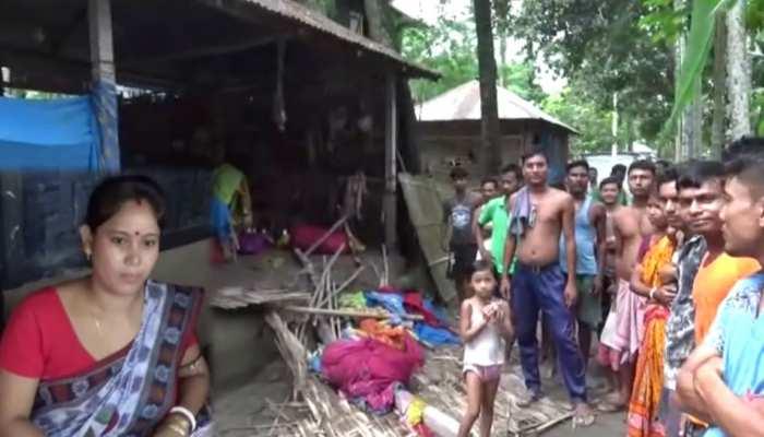 हाथियों ने कर दिया घर पर हमला, घबराई नवविवाहिता ने छोड़ दिया ससुराल