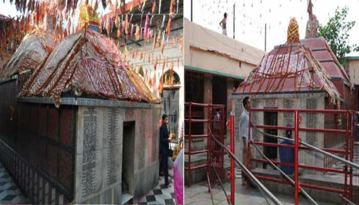 गया के मंगलागौरी मंदिर से मूर्ति चोरी, सीसीटीवी कैमरे में कैद हुई करतूत