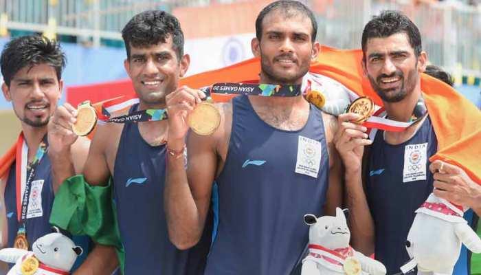 Asian Games 2018 : रोइंग में भारत ने जीता गोल्ड मेडल, 2 ब्रॉन्ज पर भी जमाया कब्जा