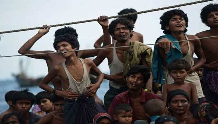 Rohingya community gave it 'black day' after completion of one year of Myanmar violence