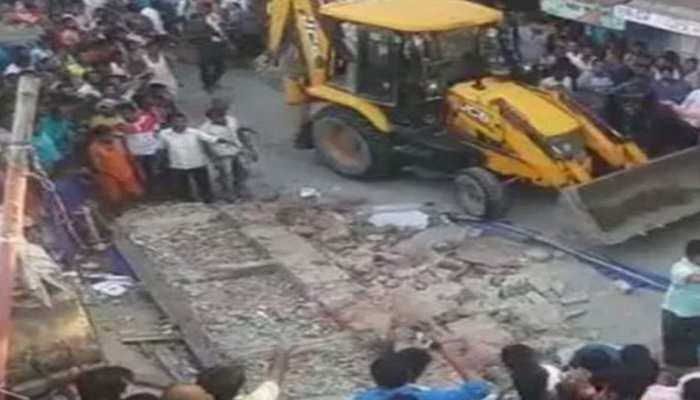 फारबिसगंज में निर्माणाधीन मकान दुकान पर गिरा, तीन लोगों की दर्दनाक मौत