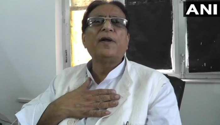 अटल जी की अस्थि कलश यात्रा पर यह क्या बोल गए आजम खान