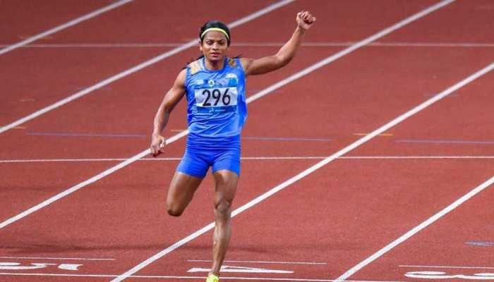 Asian Games: दुती चंद को मिलेगा 1.5 करोड़ रुपए का पुरस्कार
