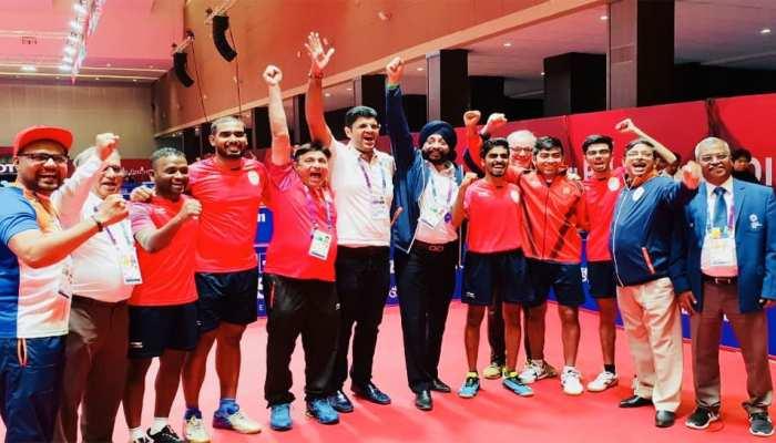 Asian Games 2018 : टेबल टेनिस में भारतीय पुरुष टीम ने जीता ब्रॉन्ज