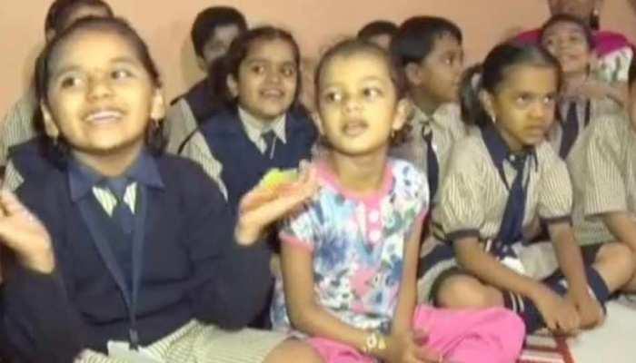 Good News: हार्ट ऑपरेशन के बाद बच्ची को अकेला ना हो महसूस इसलिए घर पहुंचा पूरा स्कूल