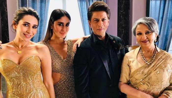 सास शर्मिला टैगोर, बहन करिश्मा और शाहरुख खान के साथ कुछ यूं नजर आईं करीना कपूर
