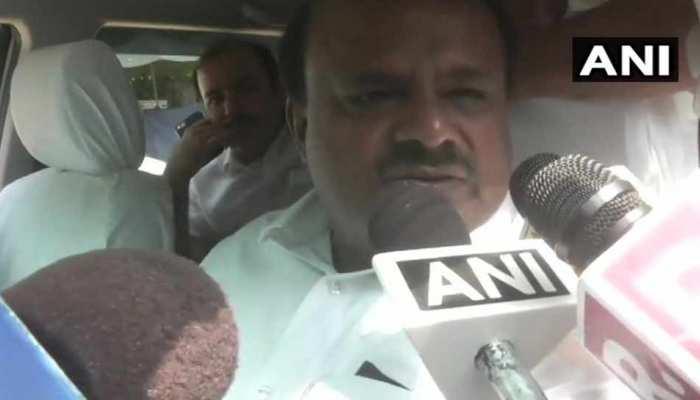 कर्नाटक सरकार के 100 दिन पूरे होने पर दिल्ली पहुंचे CM कुमारस्वामी बोले- 'राहुल जी कामकाज से खुश हैं'