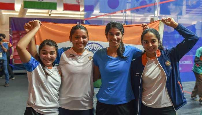 Asian Games 2018: आज गोल्ड जीतने के लिए मैदान में उतरेगी भारतीय महिला स्क्वाश टीम