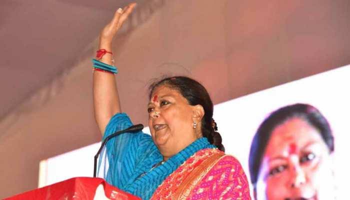 राजस्थान चुनाव: CM वसुंधरा ने शहीद के परिजनों के लिए किया बड़ा ऐलान