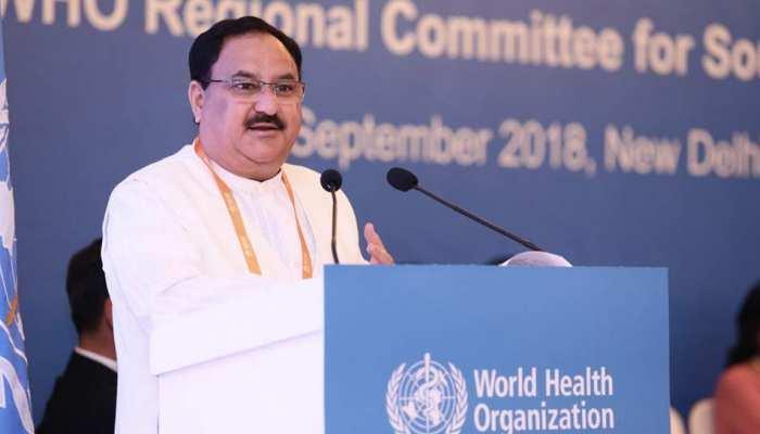 भारत ने वैश्विक स्वास्थ्य कवरेज को लेकर पहल तेज की : जेपी नड्डा