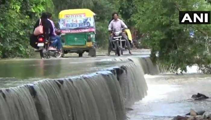 UP: बिजनौर में सबसे ज्यादा रिकॉर्ड बारिश, मौसम विभाग ने जारी किया अलर्ट