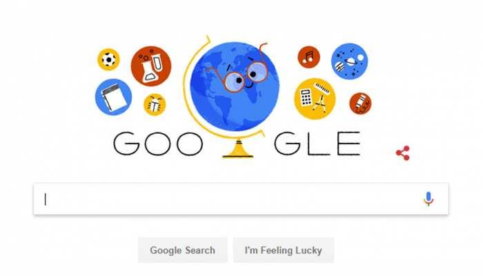 Teacher's Day: गूगल ने शिक्षक दिवस पर डूडल बनाकर किया टीचर्स का सम्मान