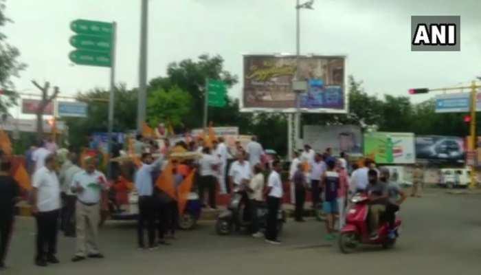 LIVE: SC/ST एक्ट के विरोध में बंद को मध्यप्रदेश सहित बिहार, राजस्थान और महाराष्ट्र में मिला समर्थन