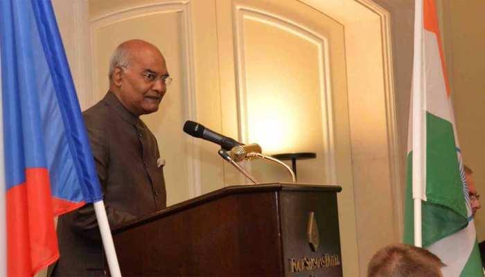 चेक गणराज्य में राष्ट्रपति रामनाथ कोविंद ने सुनाई 'बाटा कंपनी' की कहानी