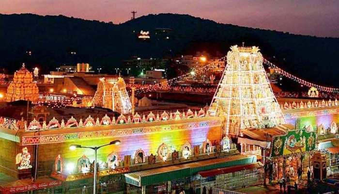 बेंगलुरू की दो कंपनियों ने भगवान वेंकटेश्वर मंदिर को दो करोड़ रुपये दान में दिए