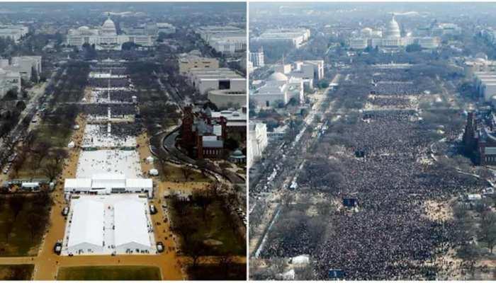 फोटोग्राफर ने कबूला- ट्रंप के शपथ-ग्रहण समारोह की तस्वीरें एडिट कर दिखाई थी भारी भीड़