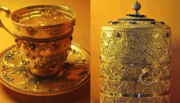हैदराबाद: 50 करोड़ के सोने के लंच बॉक्स में चोर खाना खाते थे, पकड़े गए