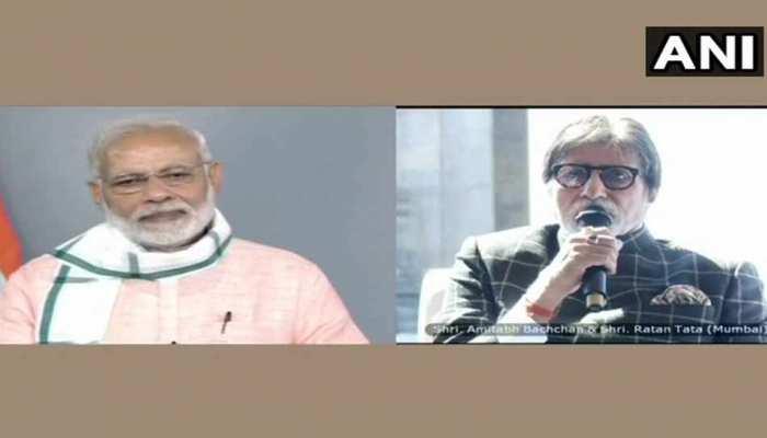 जब अमिताभ ने PM मोदी को बताया, जब उन्होंने सफाई अभियान के लिए मशीन-ट्रैक्टर दान मेें दिया
