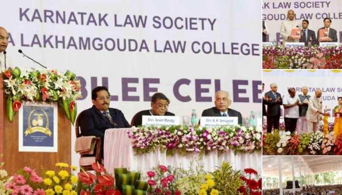 कर्नाटक: राष्ट्रपति रामनाथ कोविंद ने कहा- देश बड़े बदलाव के दौर से गुजर रहा है