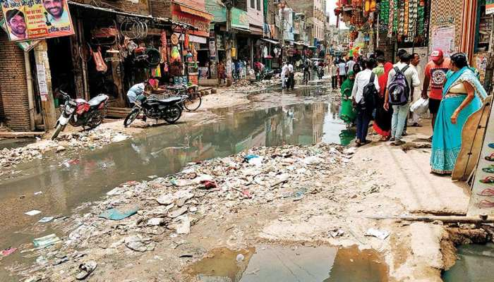 Two-thirds of the Indian cities no have no sewer system