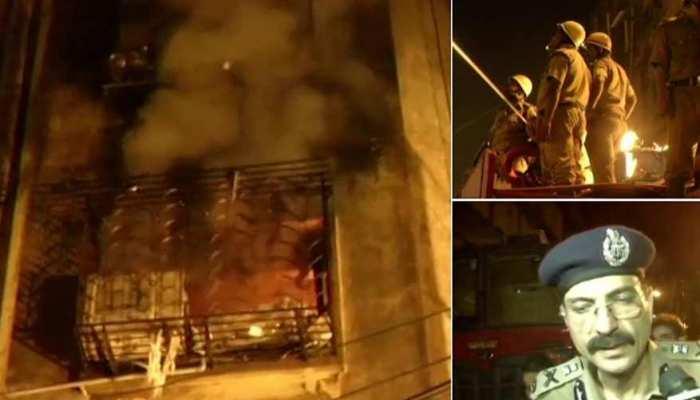 कोलकाता: बागड़ी बाजार में 1000 दुकानों वाली इमारत में लगी भीषण आग