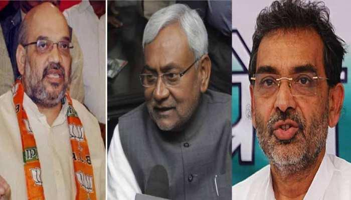 बिहार NDA में घमासान, आरएलएसपी ने दी महागठबंधन में शामिल होने की धमकी