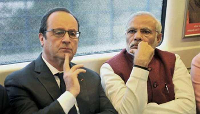 राफेल डील पर फ्रांस्वा ओलांद के बयान के बाद फ्रांस को सता रहा है भारत से संबंध बिगड़ने का डर