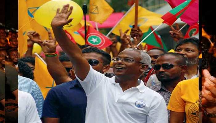 मालदीव चुनाव: चीन समर्थक यामीन को पछाड़कर, भारत समर्थक विपक्षी उम्मीदवार इब्राहिम सोलिह की जीत