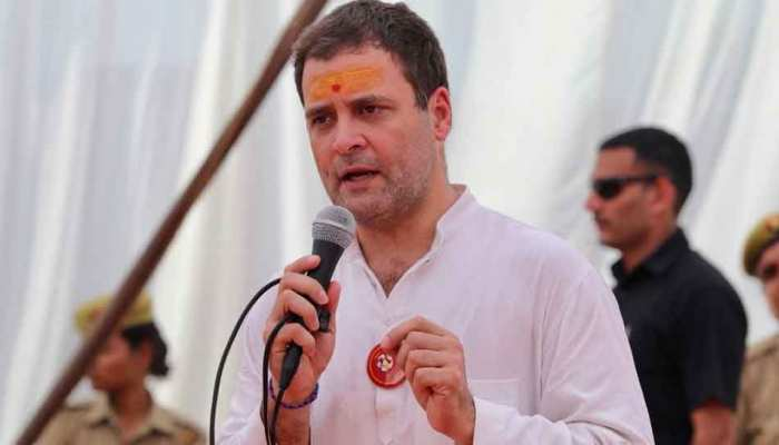 'बोल बम' के नारों के साथ अमेठी में हुआ 'शिवभक्त' राहुल गांधी का स्वागत