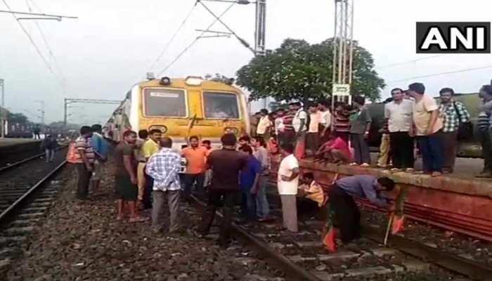 पश्चिम बंगाल बंद: हुगली, नॉर्थ 24 परगना में ज्यादा असर, वेस्ट मिदनापुर में सरकारी बसों में आग लगाई गई