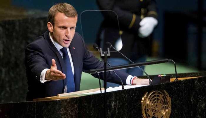 फ्रांसीसी राष्ट्रपति मैक्रों बोले- राफेल करार जब हुआ था, तब मैं पद पर नहीं था