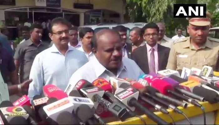 CM कुमारस्वामी ने दिखाया कॉन्फिडेंस, कहा- '5 साल चलाऊंगा सरकार'