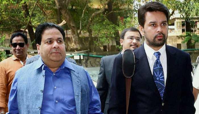 अनुराग ठाकुर और राजीव शुक्ला बोले- PCB को एक पैसा नहीं देना चाहिए