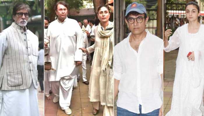 krishna raj kapoor funeral kareena kapoor with her father