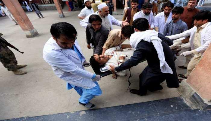 अफगानिस्तान: चुनावी रैली में फिदायीन हमला, 13 लोगों की मौत