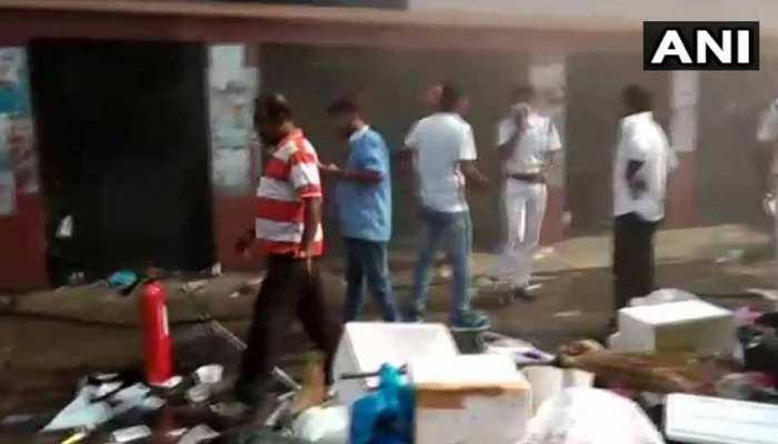 कोलकाता के सरकारी अस्पताल में लगी आग, मौके पर फायर ब्रिगेड की 10 गाड़िया तैनात